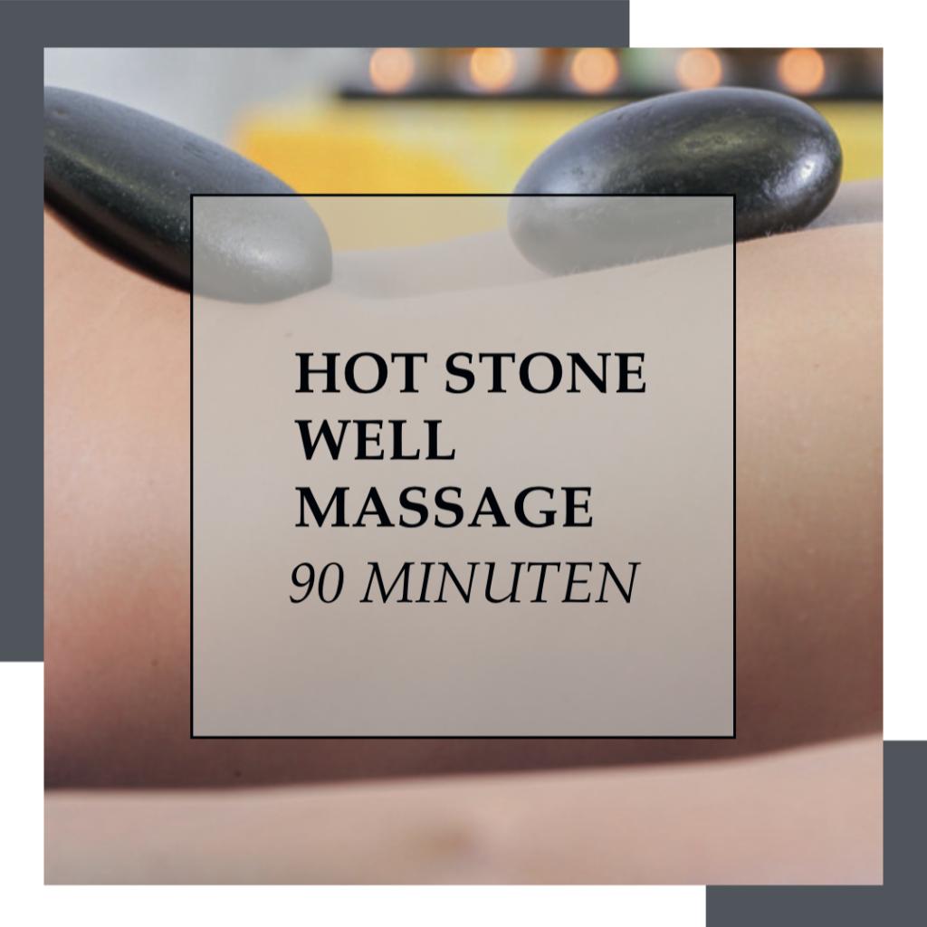 Gutschein Hot Stone Well 90 Minuten | HopeCosmetics