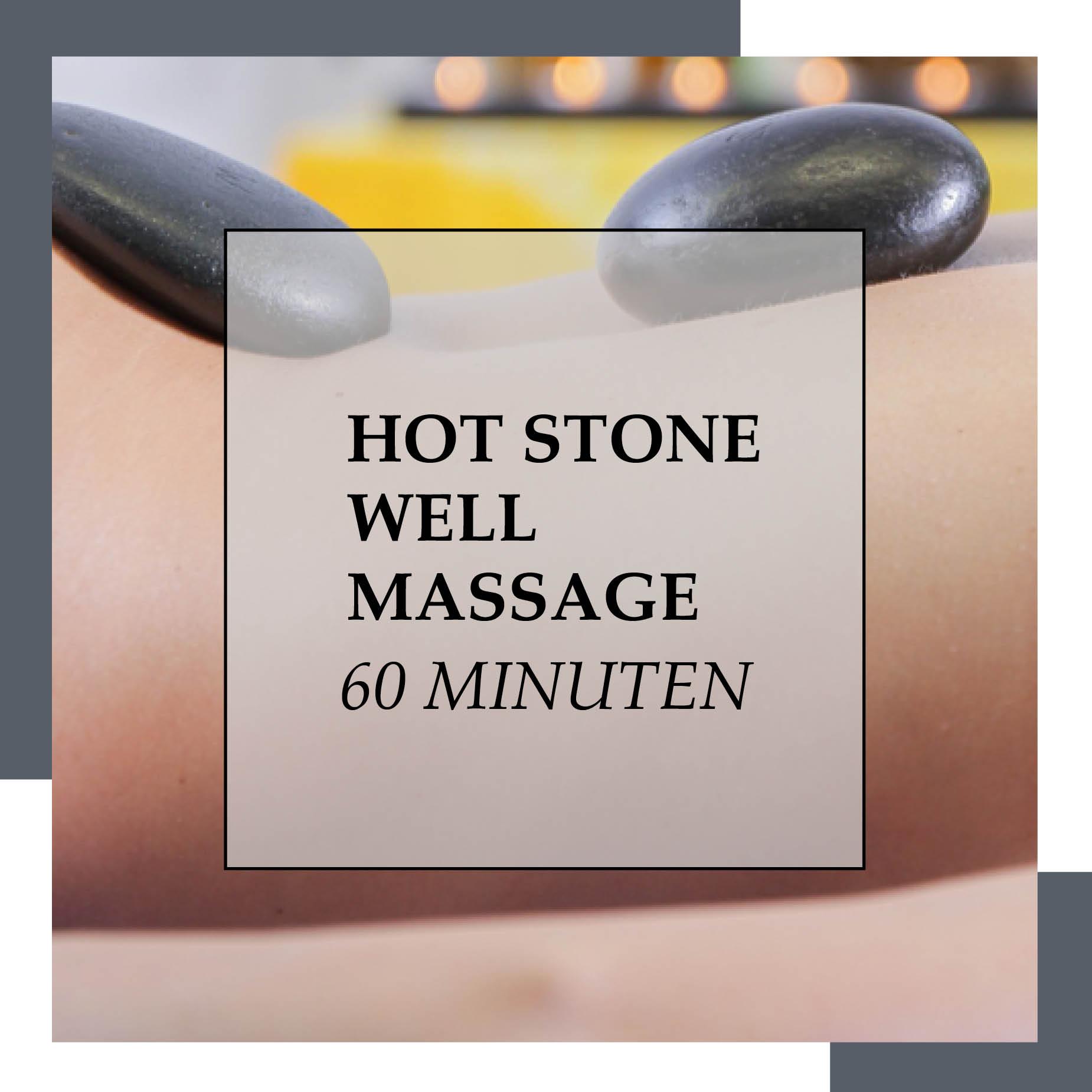 Gutschein Hot Stone Well 60 Minuten | HopeCosmetics