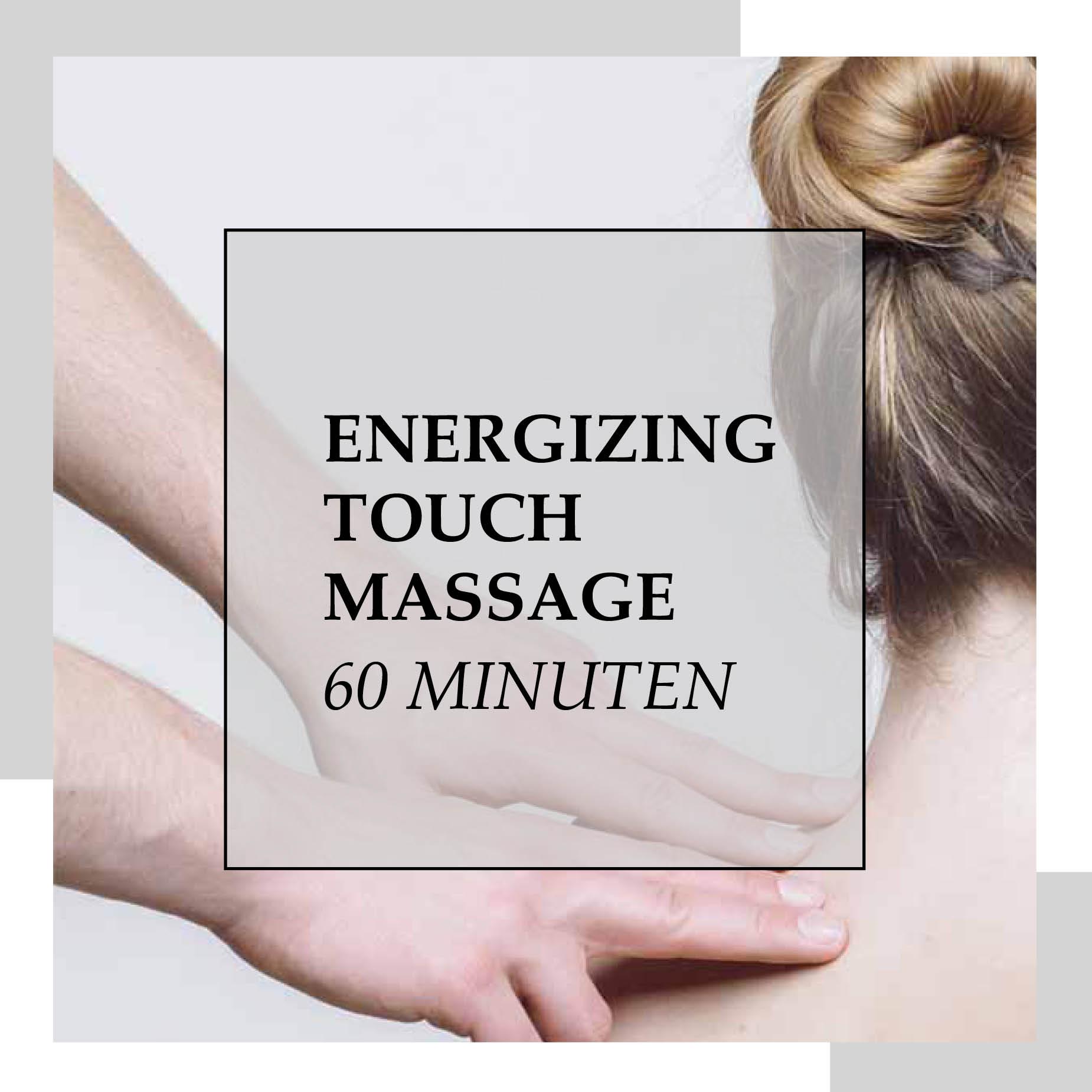 Gutschein für Energizing Touch Massage 60 min | HopeCosmetics