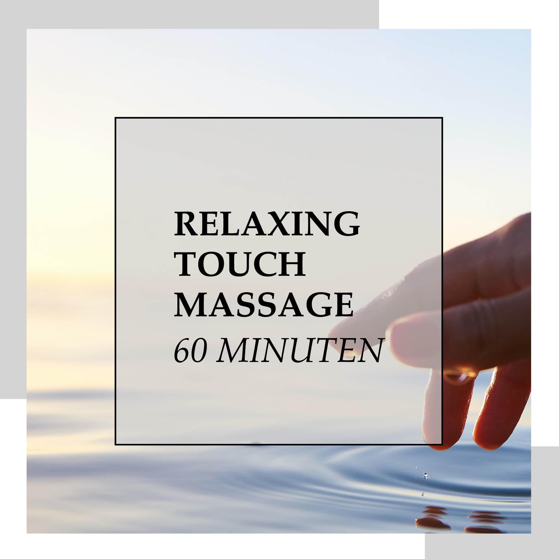 Gutschein für Relaxing Touch Massage 60 min | HopeCosmetics