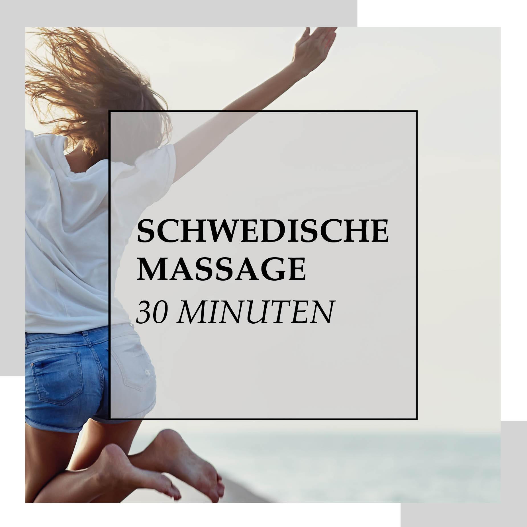 Gutschein für Schwedische Massage 30 min
