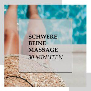 Gutschein für Schwere Beine Massage 30 min