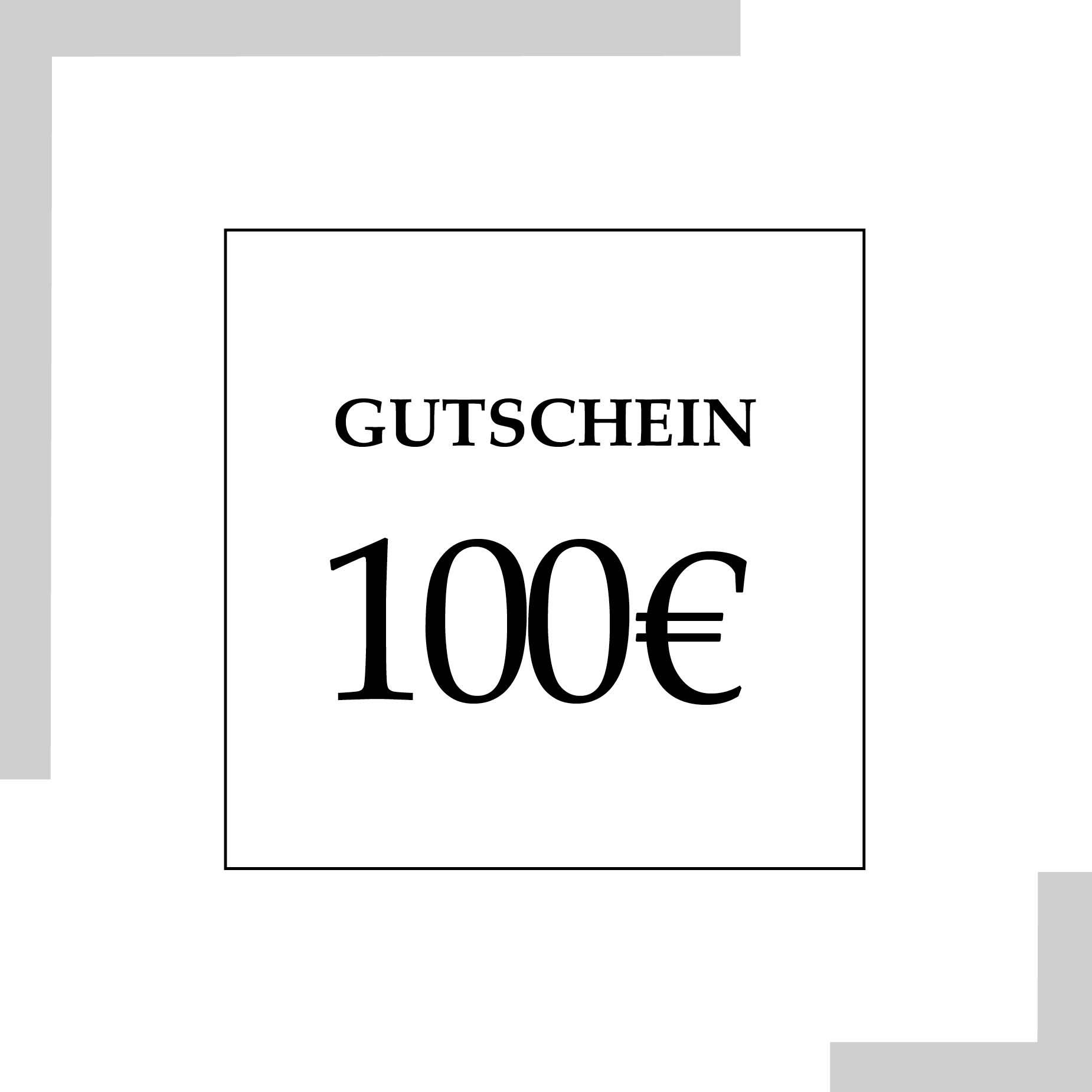 Gutschein 100 Euro | HopeCosmetics