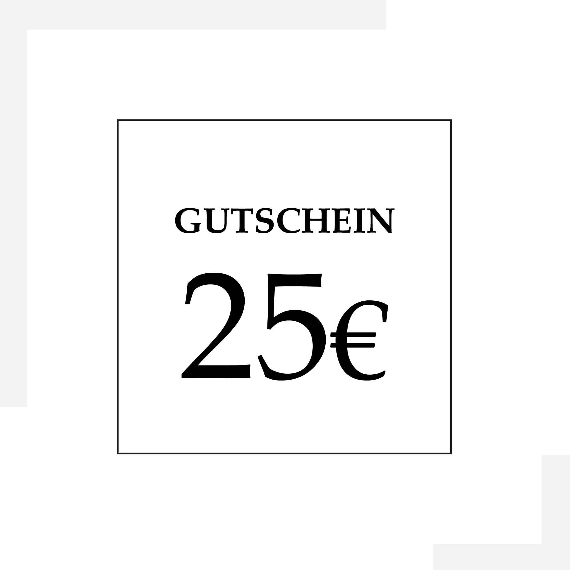 Gutschein 25 Euro | HopeCosmetics
