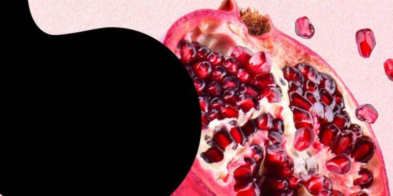 Foto eines Granatapfels