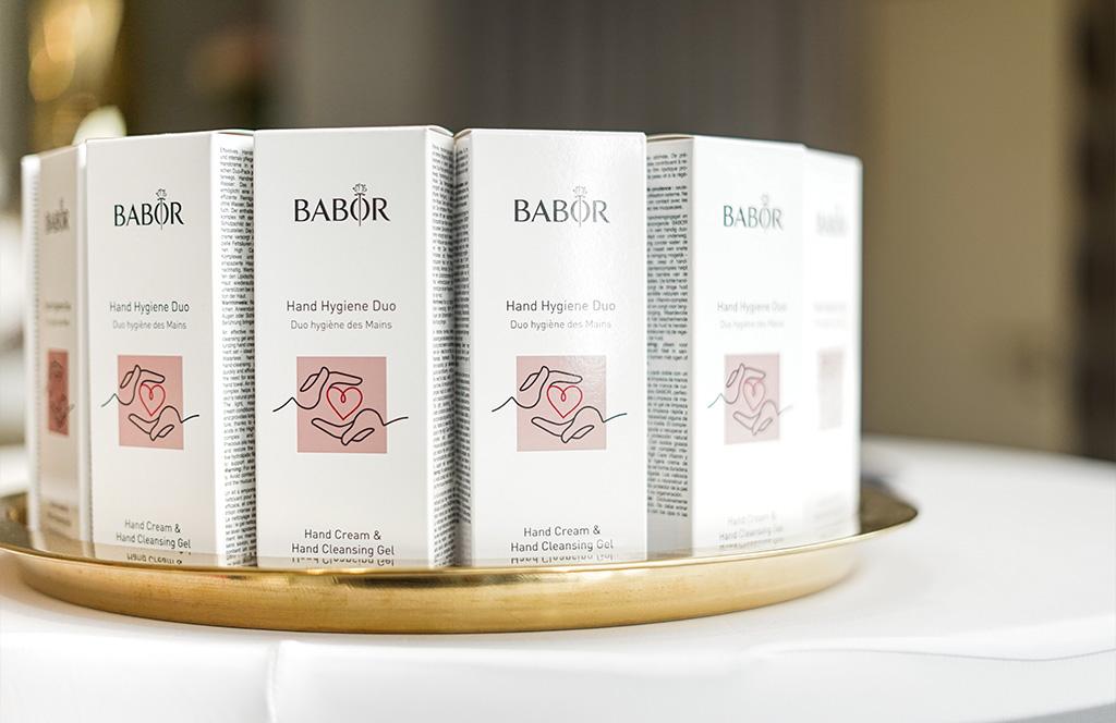 Abbildung von Babor Koemetik Produkten