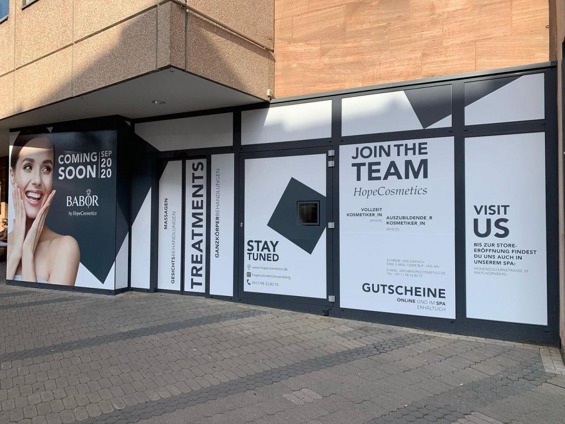 HopeCosmetics CityStoreeröffnung